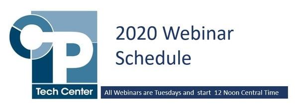 CPTC 2020 Webinars